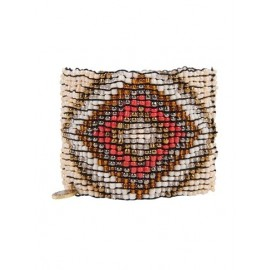 Браслет из бисера Cocobelle бежевый Aztec