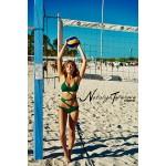 Green Halter Criss cross от Natalya Toporova