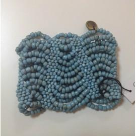 Браслет из бисера Cocobelle голубой NEW WAVE