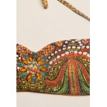 Купальник Sauvage бандо Pompeii разноцветный с мозаикой